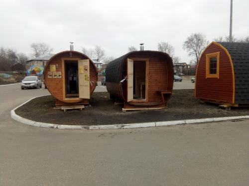 Бани-бочки под ключ от производителя в Костроме