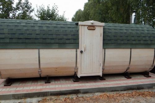 Бани-бочки под ключ от производителя в Нижнем Новгороде