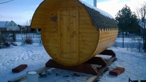 Бани-бочки под ключ от производителя в Великом Новгороде